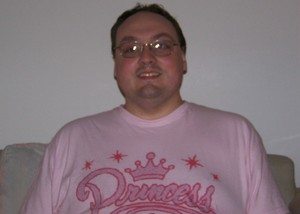 Me in a Princess shirt
