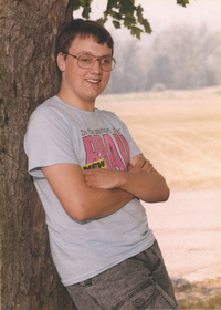 Senior Picture from 1991