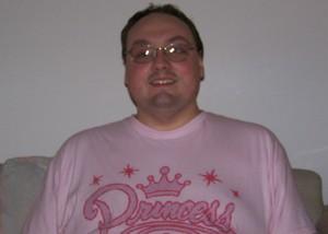 Me in a Princess shirt