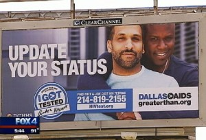 Dallas > AIDS Billboard